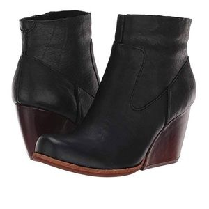Kork-Ease Michelle wedge booties